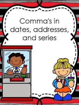 Image result for commas in address clip art