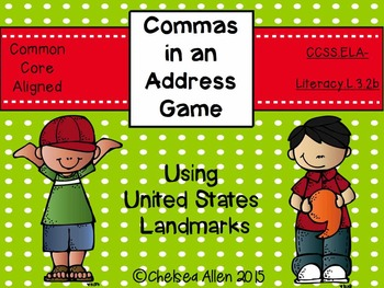 Commas in an Address Game