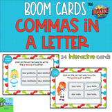 Commas in greetings and closings of letters Boom Cards™ 50% off