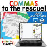 Commas | Using Commas | Comma Activities and Worksheets