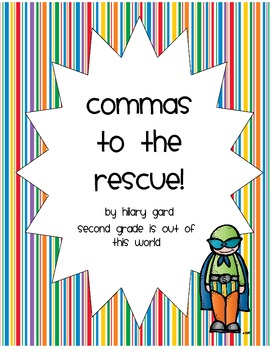 Commas to the Rescue UK edition!  Comma usage unit.