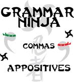 Commas w/ Appositives - Grammar Ninja