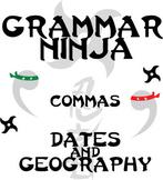 Commas w/ Dates and Geography - Grammar Ninja