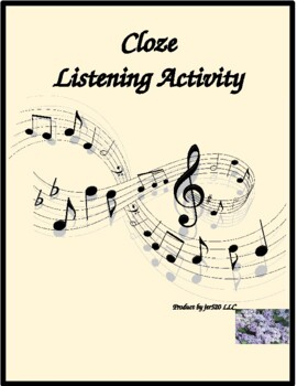 Comme d'habitude song cloze listening activity