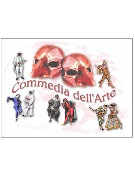 Commedia Del Arte Packet 1:  The Scene Lazzi