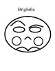 Commedia Mask Templates
