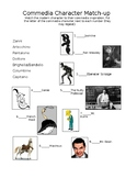 Commedia Matching Quiz