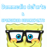 Commedia del'arte Stock Character Spongebob Worksheet