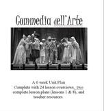 Commedia dell Arte: 24 Lesson Drama Unit