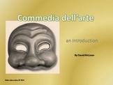 Commedia dell'arte - the drama series