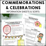 Commemoration or Celebration Sort