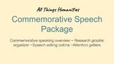 Commemorative Speech Package