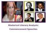 Commencement Speech Rhetorical Analysis Lesson