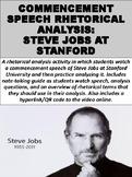 Commencement Speech Rhetorical Analysis: Steve Jobs at Stanford