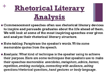 rhetorical analysis of obama's speech on This particular dnc speech is her third mrs obama delivered a dnc speech in 2008 when her husband, then senator barack obama, was running for his first term as president of the united states, and michelle delivered a speech at the 2012 dnc when her husband, president barack obama, was running for reelection mrs.