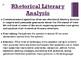 Commencement Speeches Rhetorical Analysis Unit