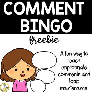 Comment Bingo