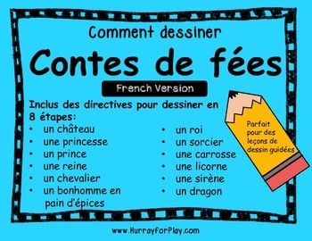 How to Draw Fairy Tales (French)