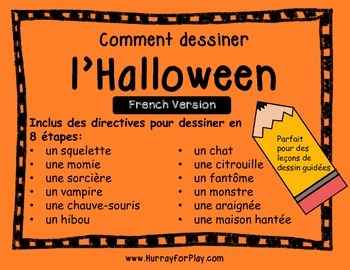 How to Draw Halloween (French)
