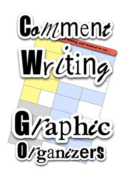 Comment Writing Graphic Organizer