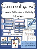 Comment ca va? French Attendance Activity