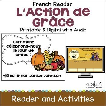 Comment célébrons-nous le jour de Grâce ? French Reader for Thanksgiving