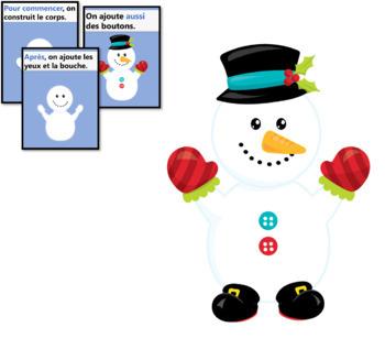 Comment construire un bonhomme de neige + Cartes éclairs