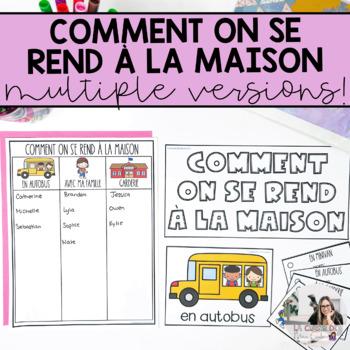 French How We Go Home / Comment on se rend à la maison