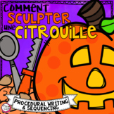 Comment sculpter une citrouille • French Procedural Writing & Sequencing