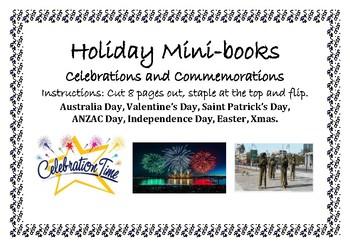 Commemoration and Celebration mini-books