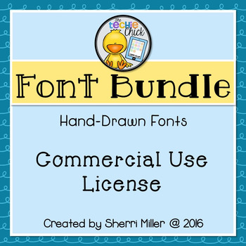 Commercial Font License: All TC Fonts