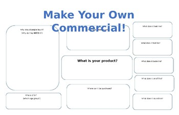 Commercial Graphic Organizer