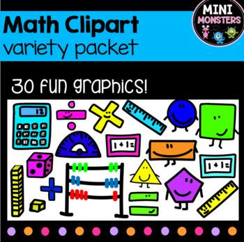 Commercial Fun Math Clipart