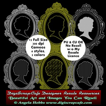 Commercial Use Cameo Clip Art Transparent PNG Images