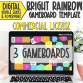 Commercial Use Editable Blank Gameboard Template Google Sl