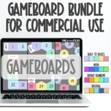 Commercial Use Editable Gameboard Template Google Slides a