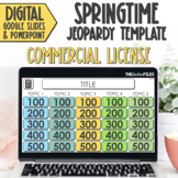 Commercial Use Editable Jeopardy Template Google Slides Sp
