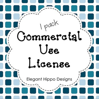 Commercial Use License (1 Pack)
