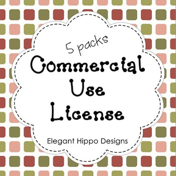 Commercial Use License (5 Packs)