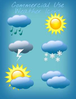 Commercial Use Weather Icons