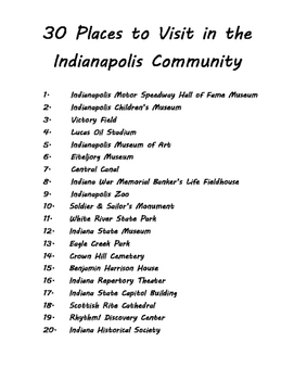 Comminity Brochure - Indianapolis Version