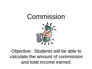 Commission Lesson Plan (PowerPoint)