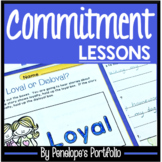 COMMITMENT Lessons and Activities - Character Education