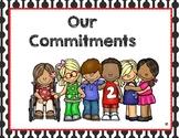 Commitments. Conscious Discipline.