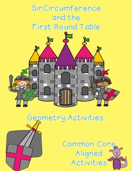 Common Core Aligned Sir Cumference Geometry/Measurement Literacy Task Cards