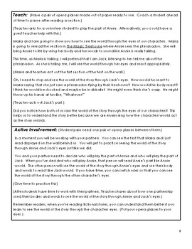 Common Core 3rd Grade Reading Lessons Unit: Following Characters into Meaning