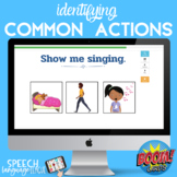 Common Actions | Verbs | Speech Therapy | Illustrations | Basic Concepts
