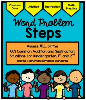 Common Addition and Subtraction Situations for Kindergarte