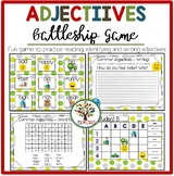 Common Adjectives {Games, worksheets, cards, writing tasks