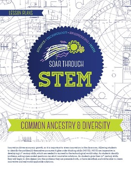 Common Ancestry & Diversity - STEM Lesson Plan With Journal page